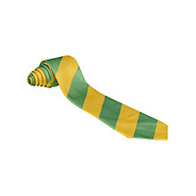 Buy Our Lady's Bishop Eton Primary School Unisex Tie, Green/Yellow Online at johnlewis.com