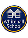 Whitehall School Unisex Blazer Badge, Blue Multi