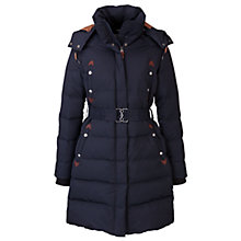 Buy Aigle Cuckmere Quilted Long Jacket Online at johnlewis.com