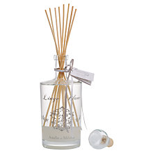 Buy Amelie et Melanie White Linen Diffuser, 300ml Online at johnlewis.com