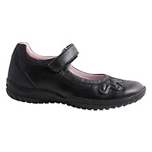 Buy Geox Shadow Children's Shoes, Black Online at johnlewis.com