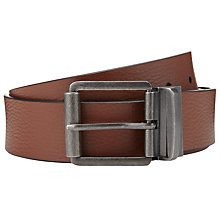 Buy John Lewis Casual Reversible Belt, Black/Brown Online at johnlewis.com