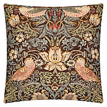Buy William Morris Strawberry Thief Cushion Online at johnlewis.com