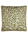 William Morris Willow Bough Cushion, Green