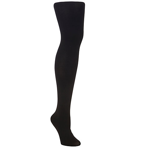 Buy John Lewis 80 Denier Ladder Resist Tights, Black Online at johnlewis.com