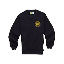 Buy St John's Walham Green CE Primary School Sweatshirt, Navy Online at johnlewis.com