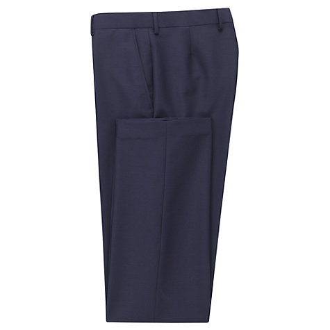 Buy Richard James Mayfair Wool & Mohair Suit Trousers, Royal Online at johnlewis.com