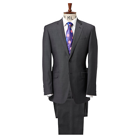 Buy Richard James Mayfair Wool & Mohair Suit, Grey Online at johnlewis.com