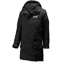 Buy Helly Hansen Hydropower Rigging Coat, Black Online at johnlewis.com