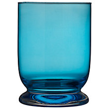 Buy John Lewis Bella Hurricane Lamp, Blue Online at johnlewis.com
