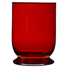 Buy John Lewis Bella Hurricane Lamp, Red Online at johnlewis.com