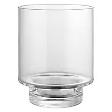 Buy John Lewis Glass Hurricane Lamp Online at johnlewis.com