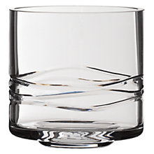 Buy John Lewis Cut Glass Storm Lantern, H10cm Online at johnlewis.com