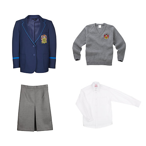 Buy The Blue Coat School Girls' Uniform Online at johnlewis.com