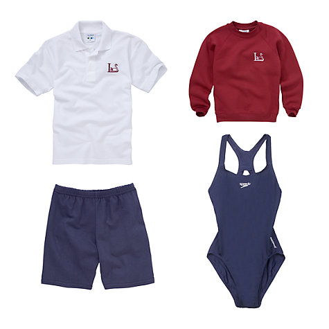 Buy Leehurst Swan School Girls' Years 4 - 6 Sports Uniform Online at johnlewis.com