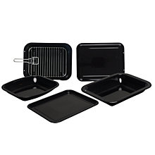Buy John Lewis Vitreous Enamel Bakeware Online at johnlewis.com
