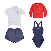 Sunninghill School Girls Reception - Years 1 & 2 Sports Uniform