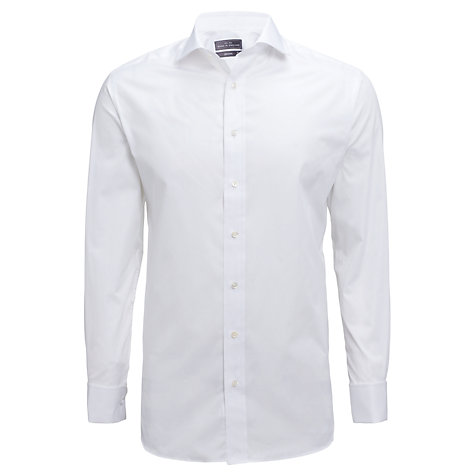 Buy John Lewis British Poplin Shirt, White Online at johnlewis.com