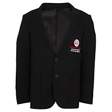 Buy Hampstead School Boys' Polyester Blazer, Black Online at johnlewis.com