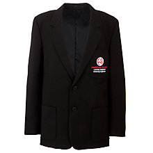 Buy Hampstead School Boys' Polyester/Viscose Blazer, Black Online at johnlewis.com