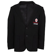 Buy Hampstead School Girls' Polyester/Viscose Blazer, Black Online at johnlewis.com
