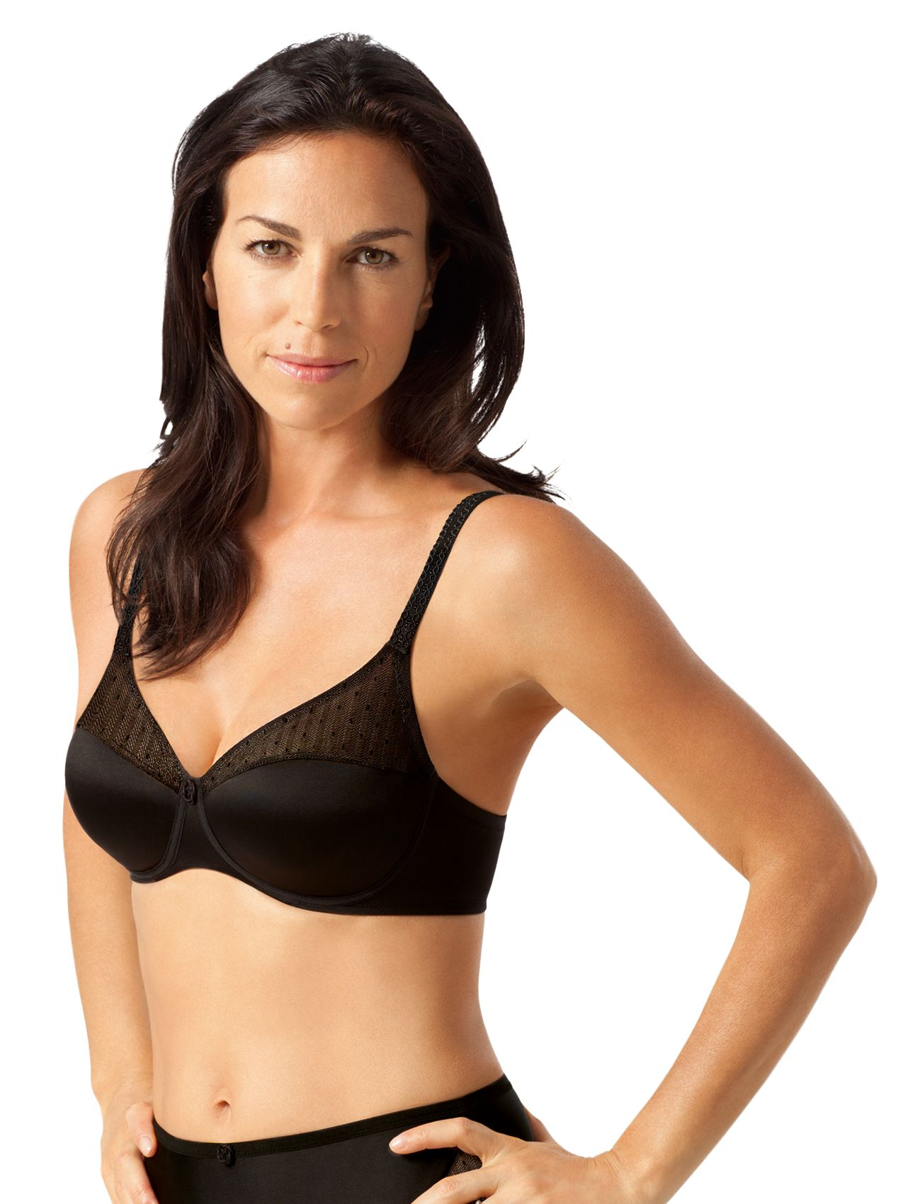 Playtex Tonique Contour Bra, Black