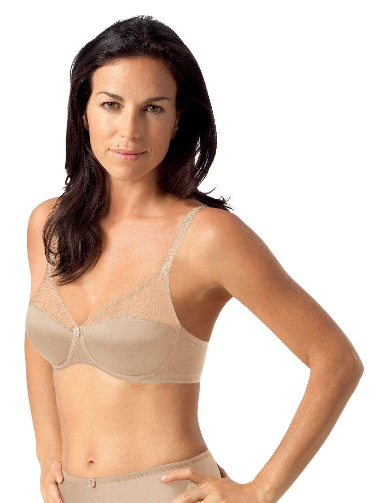 Playtex Tonique Contour Bra, Nude