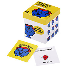 Buy Mr Men Box Trivia, Little Miss Giggles Charades Online at johnlewis.com