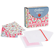 Buy Cath Kidston Mini Notecards & Envelopes, Pack Of 30 Online at johnlewis.com