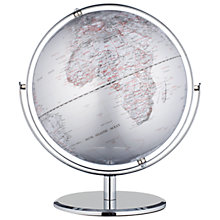 "Buy John Lewis Globe, Silver, 10"" Online at johnlewis.com"