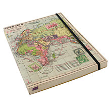 Buy Wild & Wolf World Map A5 Notebook Online at johnlewis.com