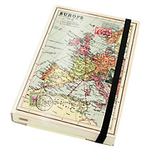Buy Wild & Wolf World Map A6 Notebook Online at johnlewis.com