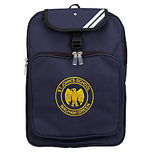 Buy St John's Walham Green CE Primary School Unisex Junior Backpack Online at johnlewis.com