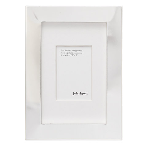 Buy John Lewis Box Photo Frame, Silver Plated Online at johnlewis.com