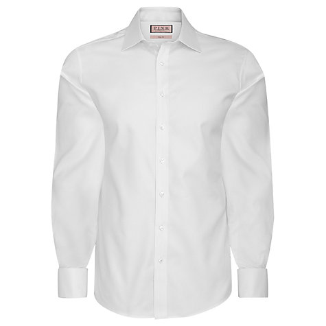 Buy Thomas Pink Royal Oxford Slim Fit Double Cuff Shirt Online at johnlewis.com