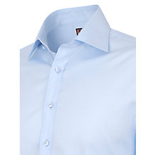 Buy Thomas Pink Solid Single Cuff Shirt, Pale Blue Online at johnlewis.com