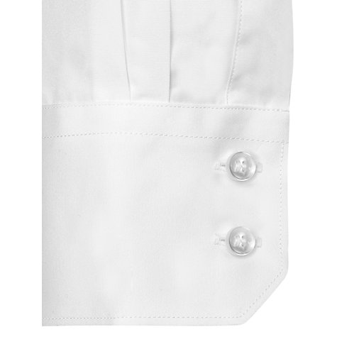 Buy Thomas Pink Solid Slim Fit Single Cuff Dress Shirt, White Online at johnlewis.com