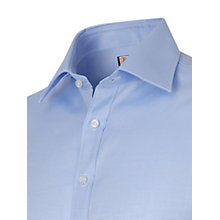 Buy Thomas Pink Plain Twill Slim Fit Shirt Online at johnlewis.com