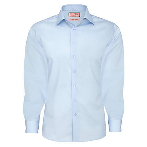 Buy Thomas Pink Comfort Stretch Plain Shirt Online at johnlewis.com