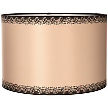 Buy John Lewis Verity Drum Shade, Taupe Online at johnlewis.com