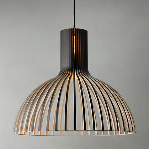 Buy Secto Victo Ceiling Light, Black Online at johnlewis.com