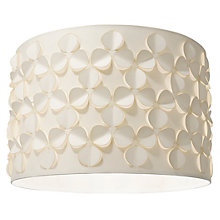 Buy John Lewis Clara Cutwork Shade, White Online at johnlewis.com