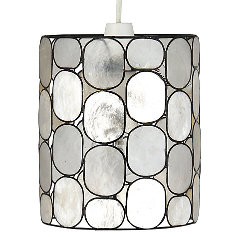Buy John Lewis Easy-to-fit Molly Capiz Shade, Small Online at johnlewis.com