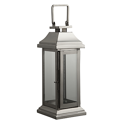John Lewis Classic Rectangular Box Lantern, Medium