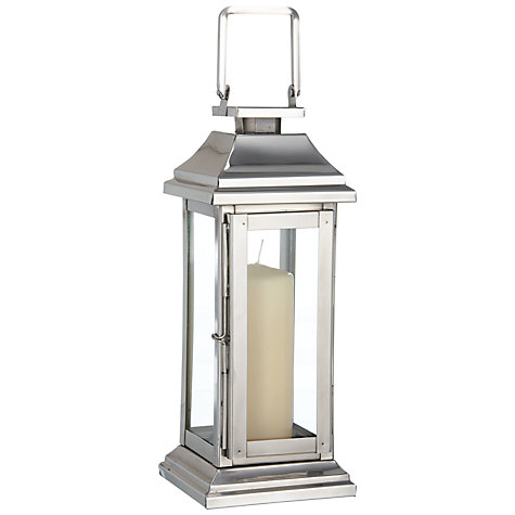 Buy John Lewis Classic Rectangular Box Lantern Online at johnlewis.com