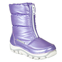 Buy John Lewis Girl Snow Boot, Purple Online at johnlewis.com