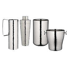 Buy John Lewis Hammered Barware Online at johnlewis.com