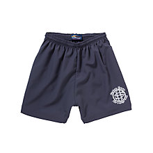 Buy Sacred Heart High School Girls' Sports Shorts, Navy Online at johnlewis.com