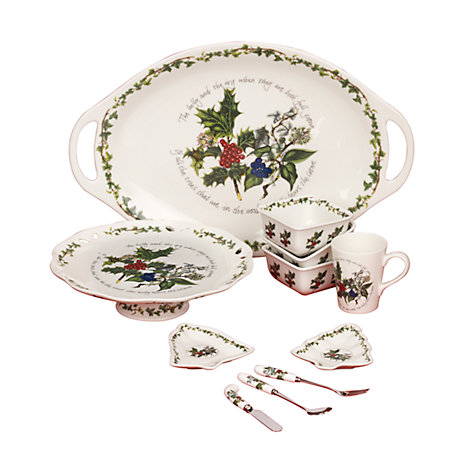 Buy Portmeirion The Holly and The Ivy Tableware Online at johnlewis.com