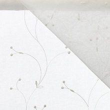 Buy Juniper Voile Fabric, Cream Online at johnlewis.com